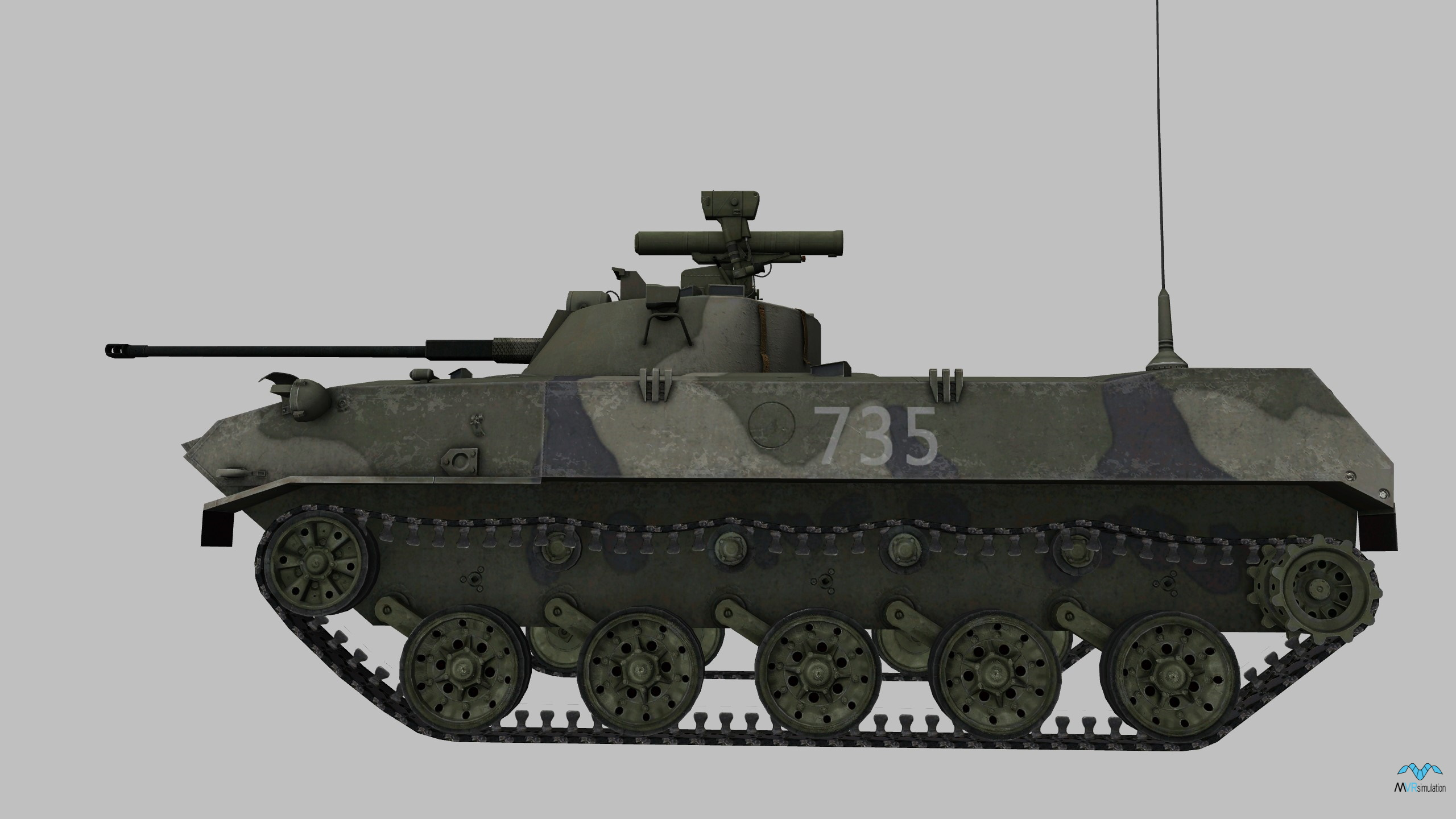 BMD-2 In Action